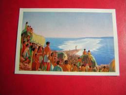 IMAGE CHOCOLAT / CHOCOLATS SUCHARD  N° 249 LE PASSAGE DE LA MER DES ROSEAUX LA PLUS BELLE HISTOIRE DES TEMPS - Suchard
