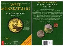 Welt-Münzkatalog 2013 Schön New 50€ Münzen 20/21.Jahrhundert A-Z Coins Of The World Europa Amerika Afrika Asien Oceanien - Libros, Revistas, Cómics