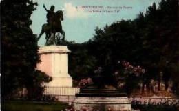 Montpellier    112         Un Coin Du Peyrou. La Sirène Et Louis XIV   . - Montpellier