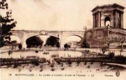 Montpellier   194        Les Jardins Et Premières Arcades De L'aqueduc  . - Montpellier