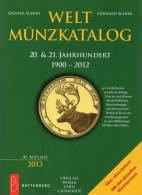 Welt-Münzkatalog 2013 Schön Neu 50€ Münzen 20/21.Jahrhundert A-Z Coins Of The World Europa Amerika Afrika Asien Oceanien - Other