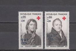 Réunion YT 362/3 ** : Croix-Rouge - 1964 - Réunion (1852-1975)