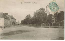 CPA DRACY LE FORT (Saone Et Loire) - LA GARENNE : La Place - France