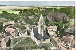 Z 1107  CPM  VENDHUILE L'EGLISE VUE AERIENNE - France
