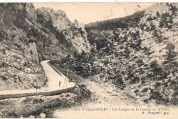 Ollioules Les Gorges Et Le Torrent Du Estel Neuve TTB - Ollioules