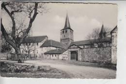 5330 KÖNIGSWINTER - OBERPLEIS, Probsteihof Mit Pfarrkirche 1956, Briefmarke Fehlt, Kl. Klebereste Rückseitig - Koenigswinter