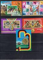 JO 114 - GUINEE EQUATORIALE Lot De 11 Blocs Obl. Jeux Olympiques De Munich 1972 - Guinée Equatoriale