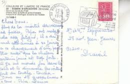 FLAMME BORDEAUX / EPARGNE LOGEMENT DANS 18000 BUREAUX DE POSTE - Marcophilie (Lettres)