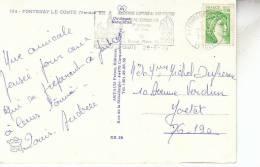 FLAMME FONTENAY LE COMTE / FOIRE EXPOSITION 3è SEMAINE DE JUIN - Marcophilie (Lettres)