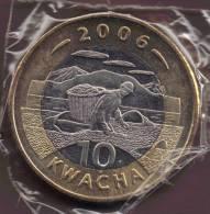 MALAWI  10 KWACHA 2006 ANIMAL FISH EAGLE BIMETAL KM# 58 - Malawi