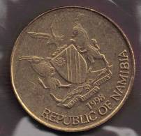 NAMIBIA 1 DOLLAR 1998  ANIMAL AIGLE - Namibie