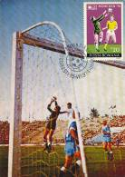 D11877 CARTE MAXIMUM CARD 1974 ROUMANIA - SOCCER GOAL KEEPER CP ORIGINAL - Coppa Del Mondo