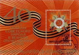 *RUSSIA & URSS* - 1985 - Y&T BF 181 - Foglietto Timbrato