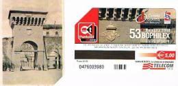 TELECOM ITALIA - C. & C. F4585  - 2008, BOLOGNA: 53^ BOPHILEX (PORTA D' AZEGLIO)       -  USATA - Public Special Or Commemorative