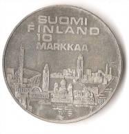 FINLANDE 10  MARKKAA  1971  ARGENT  QUALITE ! - Finlande