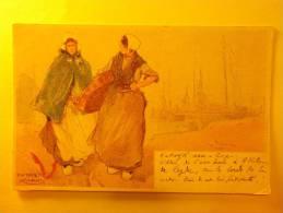 Carte Postale - KATWYK AAN SEE (Pays-Bas) - (12/956) - Pays-Bas