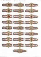 La Rica Hoja 4c  Spaanse Wapenschilden - Tabac (objets Liés)
