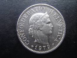 SWITZERLAND 1979  FIVE RAPPEN Copper-nickel USED COIN In GOOD CONDITION. - Suiza