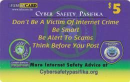 Micronesia, FSM-R-131, Cyber Safety Pasifika, 2 Scans. - Micronesia