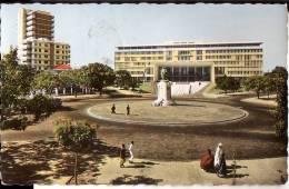 DAKAR: La Place Charles Tascher Et Le Palais De L'Assemblée Fédérale Du Mali - Senegal