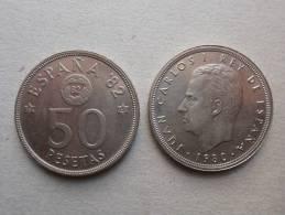 SPAGNA ESPANA SPAIN SPANIEN 2 MONETE DA  50 PESETAS 1980 - [ 5] 1949-… : Regno