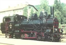 RAIL * RAILWAY * RAILROAD * TRAIN * STEAM LOCOMOTIVE * TANVALD POLUBNY * CALENDAR * Vlaky 2002 404 003 * Czech Republic - Calendriers