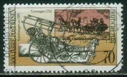 DDR  1990  500 Jahre Postverbindungen In Europa II  (1 Gest. (used))  Mi: 3356 (0,90 EUR) - [6] République Démocratique