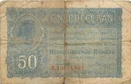 Mars13 03 : Billet Roumain  -  Cinci Deci Bani  -  Banca Generala Româna - Rumania