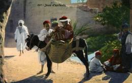 Jeux D' Enfants 697 Lehnert & Landrock Tunis Colorisée Ane - Tunisie