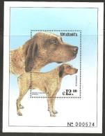 O) 1999 NICARAGUA, DOG-FRANCE, BRAQUE DU BOURBON, SOUVENIR MNH - Nicaragua