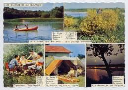 Les Charmes De Ma Campagne--Vues Diverses (pique-nique,camping,paysage,au Fil De L'eau,animée),cpsm N° 1961 éd F.Chapeau - Cartes Postales