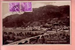 OUDE POSTKAART ZWITSERLAND SCHWEIZ   BELLINZONA  1936 - TI Ticino