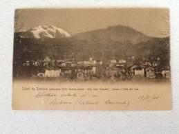 CARTOLINA RUBIANA (altitudine 609 Varda E Colle Del Liss.) VIAGGIATA DEL 1906 BUONO STATO - Mehransichten, Panoramakarten
