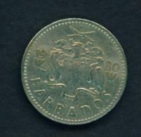 BARBADOS - 1980 25c Circ - Barbados