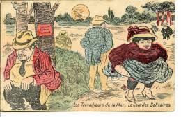 Illustrateur Non Mentionné - Les Travailleurs De La Mer.. Le Coin Des Solitaires - Constipation, Cure Thermale - Santé