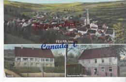 P   4 -- Fellen , Totale,Schule, Gasthaus V. Ph.Haas  28.7.1910 - Other