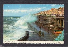 37036     Regno  Unito,   Rough  Sea  -  North  Shore -  Blackpool,  VGSB  1967 - Blackpool