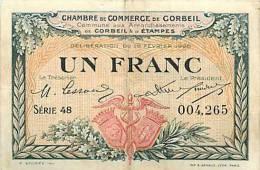 Mars13 21 : Corbeil  -  Etampes - Chambre De Commerce