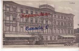 P   4 -- Cottbus,  Hotel Stadt Hamburg,Otto Kunath,  1.10.1933 - Cottbus