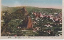 .LE PUY ( Panorama Pris  De La Route De Polignac ) - Le Puy En Velay