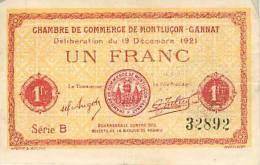Mars13 32 : Montluçon  -  Gannat - Chambre De Commerce