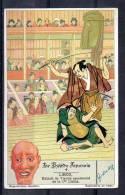Chromo - Liebig - Le Théâtre Japonais N°4 - Liebig