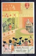 Chromo - Liebig - Le Théâtre Japonais N°5 - Liebig