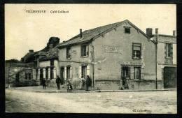 51 - VILLENEUVE RENNEVILLE CHEVIGNY - TRÈS RARE - Café COLLARD - Sonstige Gemeinden