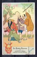 Chromo - Liebig - Le Théâtre Japonais N°3 - Liebig