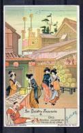 Chromo - Liebig - Le Théâtre Japonais N°6 - Liebig
