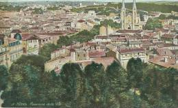 Nimes Panorama De La Ville - Nîmes