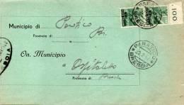 1947  LETTERA   CON ANNULLO PARATICO BRESCIA - 6. 1946-.. República