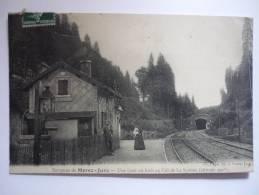 2oed - CPA - MOREZ - Environs De Morez-jura - Une Gare En Forêt - [39] - Jura - Morez