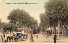 06 VENCE Place Nationale Avenue De La Gare (carte Toilee) - Vence